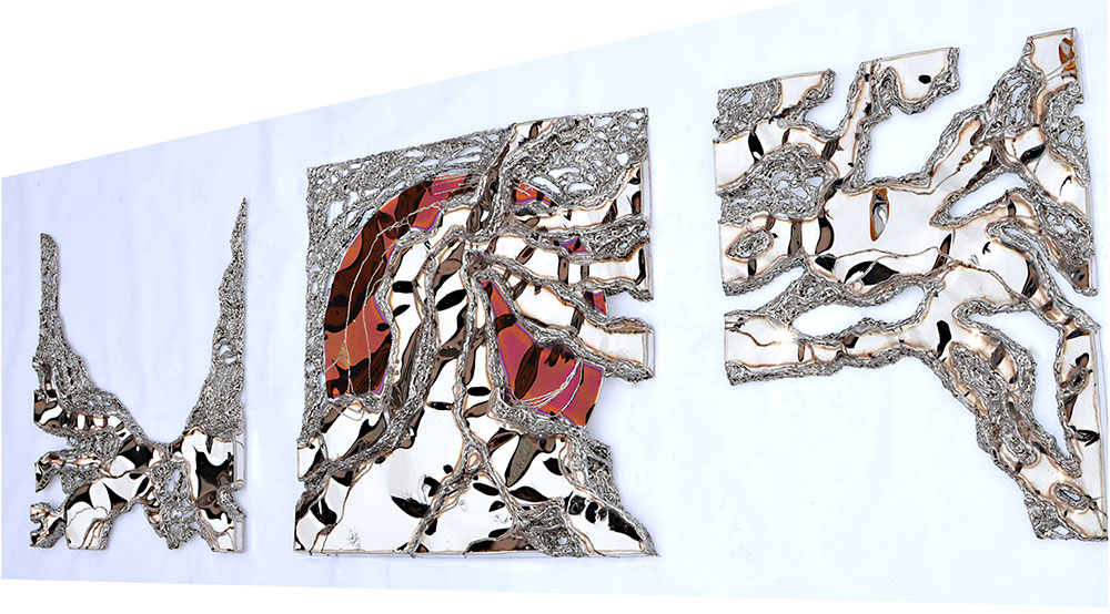 modern wall object | metal art